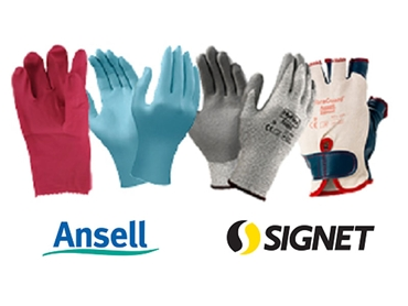 Ansell quality and dependable gloves from Signet