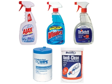 Cleaning Sprays and Wipes from Signet