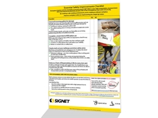 Improve workplace safety with Signet's Essential Safety Checklist