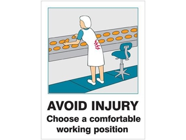 Custom made health and safety signs