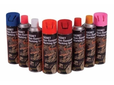 Signet Geo non-flammable marking sprays