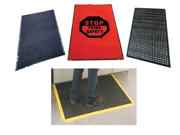 Sginet's comprehensive range of safety mats