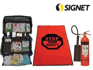 First Aid Kits, Safety Matting and Fire Extinguishers