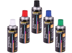 Signet's extensive range of stenciling materials