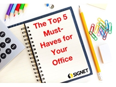 Signet offers a diverse range of office supplies necessary for the day-to-day running of any workplace