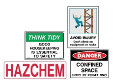 Warning, Danger and Safety Signs
