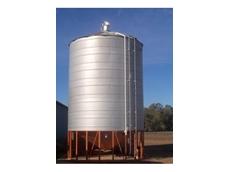 Damper silo vent units