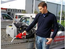 Selecta's 100 litre low profile diesel tank