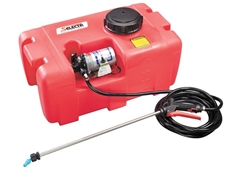 The Selecta 12 Volt Spot Sprayer Systems for Gardens, Farms and Nurseries