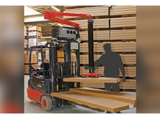 Forklift mounted vacuum lifter