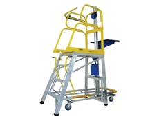Lift-Truk stock picker ladders offer a 12 hour continuous duty cycle at rated load of 60kg