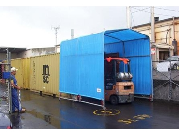 Industrial storage shelters from Siteshelter