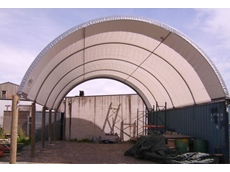 Dome shelters to protect equipment and provide additional space and storage