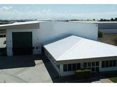 Mid-western New South Wales warehouse with SkyCool thermal coating applied