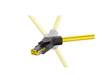 Angled, Field Installable, Profinet Connectors, Ethernet Cable Plugs, Receptables & Samtec Cable Plugs