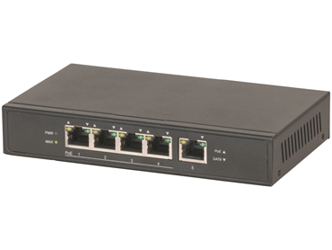 YN8071_5 Port Power-Over-Ethernet (POE)