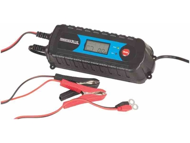 MB3611  4 Stage 6/12V 4A Battery Charger with LCD Display