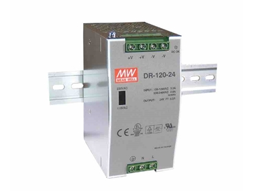 400265 Meanwell 120W DIN Rail Mount Switchmode Power Supply W 24VDC 5A