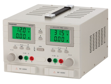 MP3087  0 to 32VDC Dual Output, Dual Tracking Laboratory Power Supply