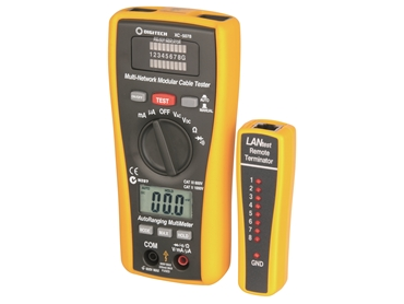 XC5078_2 in 1 Network Cable Tester and Digital Multimeter