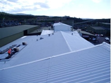 Solar heat reflective roofing paint available from Solar Cool