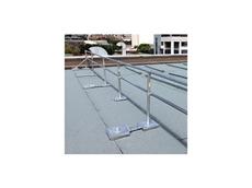 Modular free standing railing system