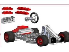 Car from LEGO car tutorial