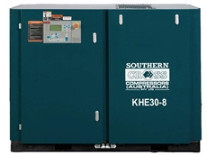 KHE Series Rotary Screw Air Compressors by Southern Cross Compressors