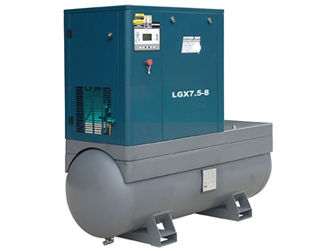 LGX7.5 Rotary Screw Air Compressor with no dryer