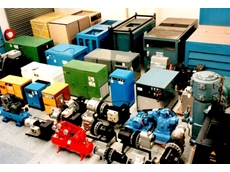 Second hand compressors range