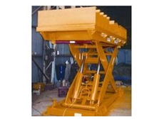 Scissor lifting equipment