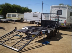 Combined Boat and Car Trailers from Southwest Trailers