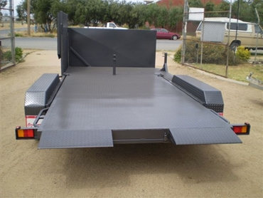 14x6 Combined Car/Mower Trailer