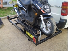 Custom Motor Bike Trailers from Southwest Trailers