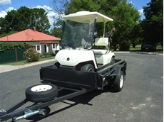 Golf Cart Trailers from Southwest Trailers
