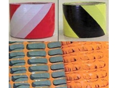 Barrier tape and barrier mesh