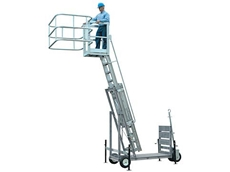 Fall Prevention Equipment for Safe Truck and Rail Car Access from Spacepac Industries
