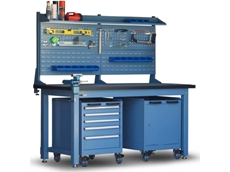 Heavy Duty Workbenches for Industrial and Construction Tools from Spacepac Industries
