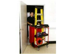Compact and manoeuvrable: the Ladder Cart.