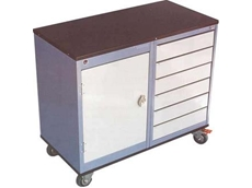 Mobile work benche and tool trolley