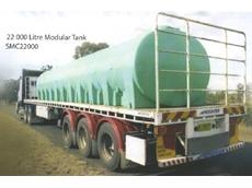 Modular transport tank system