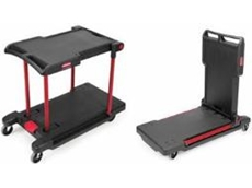 Multi purpose convertible utility carts