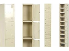 Multi-tier standard lockers