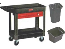 Rubbermaid heavy duty utility/ service cart