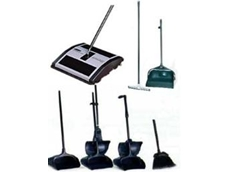 Rubbermaid mopping and sweeping tools from Spacepac Industries