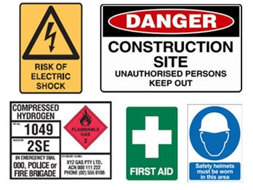 Danger Signs and Labels