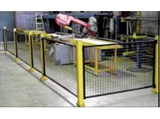 Single De-fence modular safety guarding system