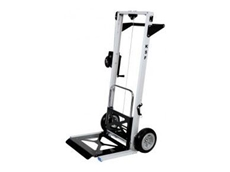 Spacepac's new manual lift trolleys are manufactured from lightweight aluminium, with high strength cable that prevents corrosion and fraying