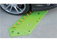 One way access tyre spikes