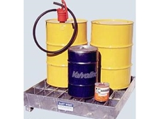 Spill bins for protection against chemical spills